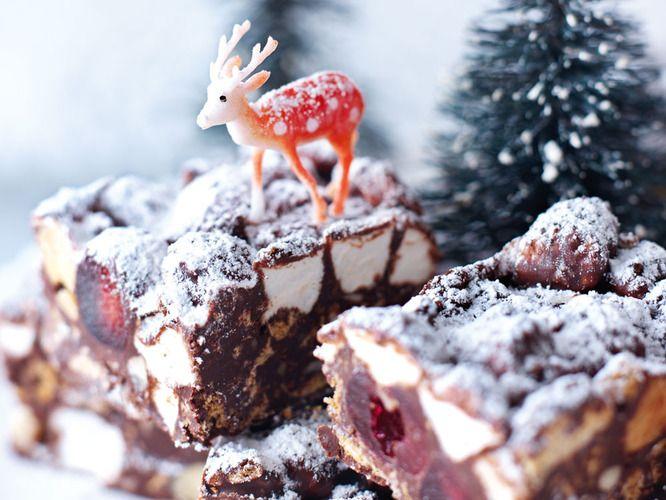 GF Christmas Rocky Road Candy from Nigella Lawson