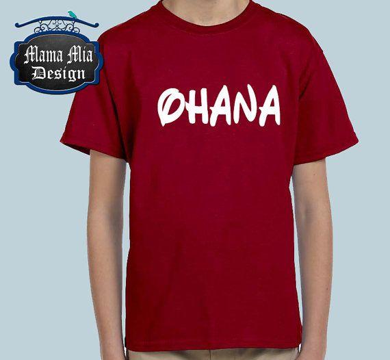 Disney Shirt / Ohana / Disney Family Shirt / Walt by MamaMiaDesign