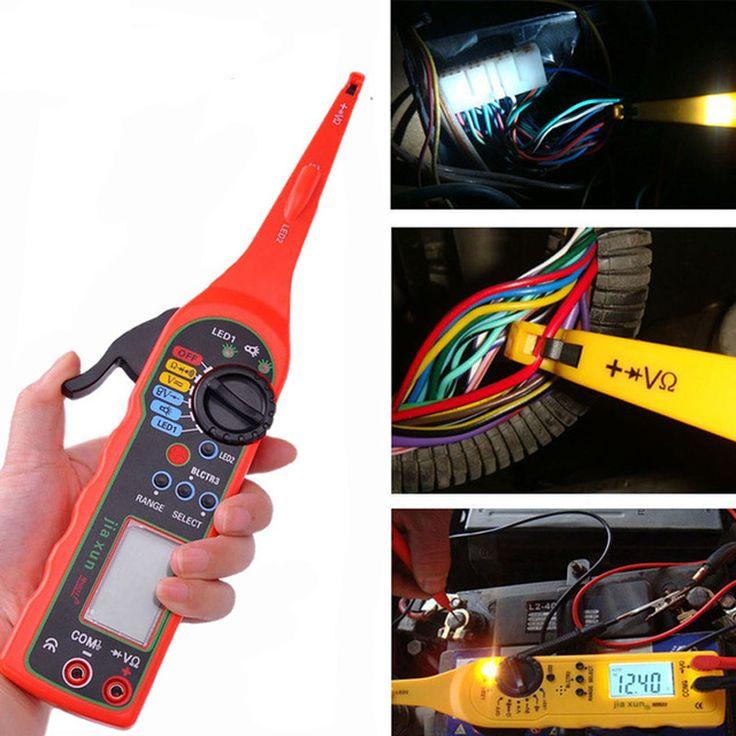 Universal Power Electric Circuit Tester 0-380V Automotive Multimeter Lamp Car Repair Tool With LCD Screen Display MS8211 #Affiliate