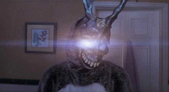 no: shiny eyes aren't like a thing for me. however, being nostalgic about Donnie Darko? that's ma jaaaaam y'all