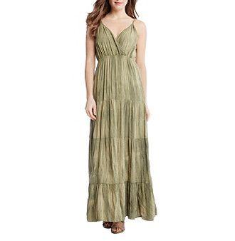 Karen Kane® Tiered Maxi Dress