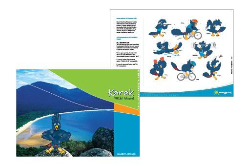 Offical Mascot - Melbourne Commonwealth Games, Merchandising Artpack
