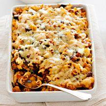 Vegetable pasta bake