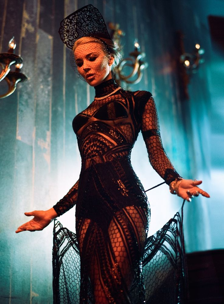 Seriously Ruined: Daphne Guinness for S Moda | January 2016
