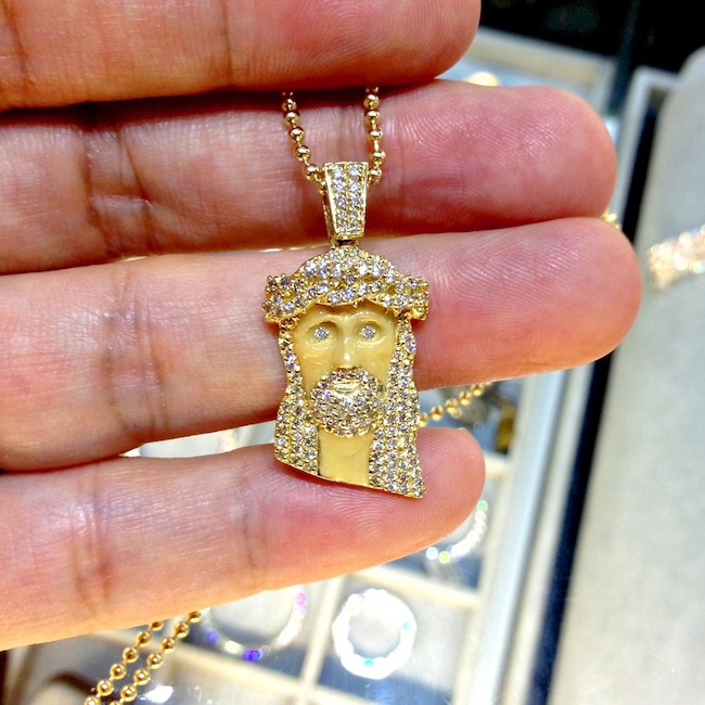 13 best jesus pieces images on pinterest jesus piece jewerly enamel micro jesus piece i want aloadofball Image collections