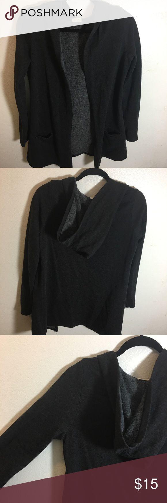 "Brandy Melville cardigan Dark grey ""John Galt"" by Brandy Melville cardigan, BNWOT, never worn Brandy Melville Sweaters Cardigans"