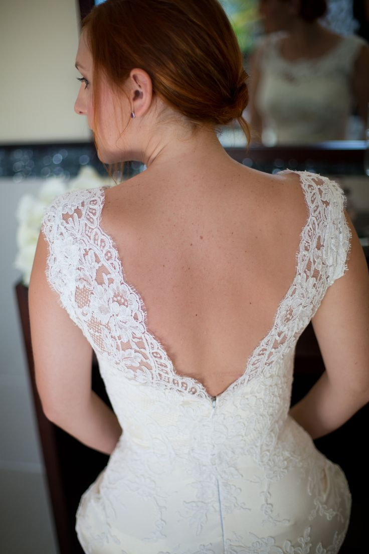Low Back Wedding Dresses Sydney : Wedding dressses low back brides forwards lace dress
