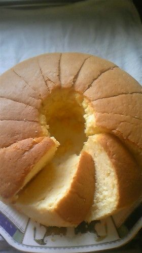 ふわっふわ♪シフォンケーキ by TOKUEMI [クックパッド] 簡単おいしいみんなのレシピが252万品