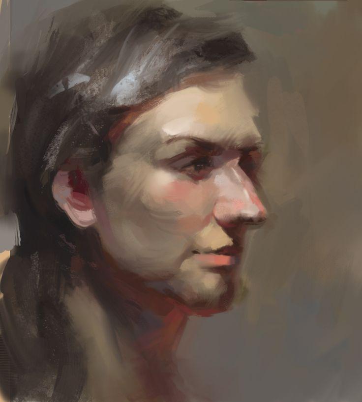 Copy portrait_digital painting