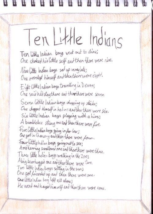 """""""Ten Little Soldier Boys"""" by Frank J. Green"""