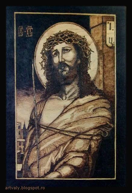 ArtValy: ISUS CU COROANA DE SPINI 3 De vânzare ! (contact vali_negrutzu@yahoo.com)