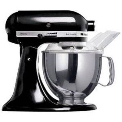KitchenAid Artisan KSM150BOB Stand Mixer Black - Cheap Food Mixers UK