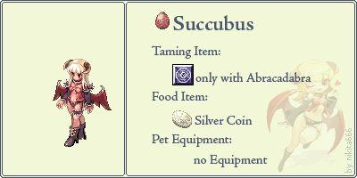 Succubus Pet