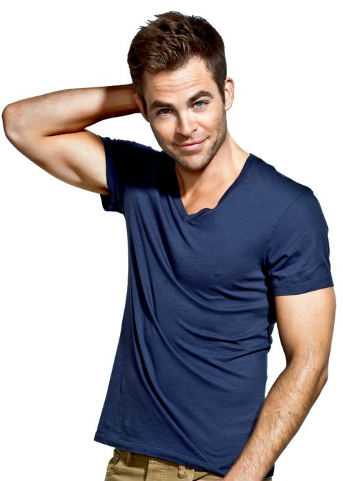 Chris Pine, like my profile page and join me also…
