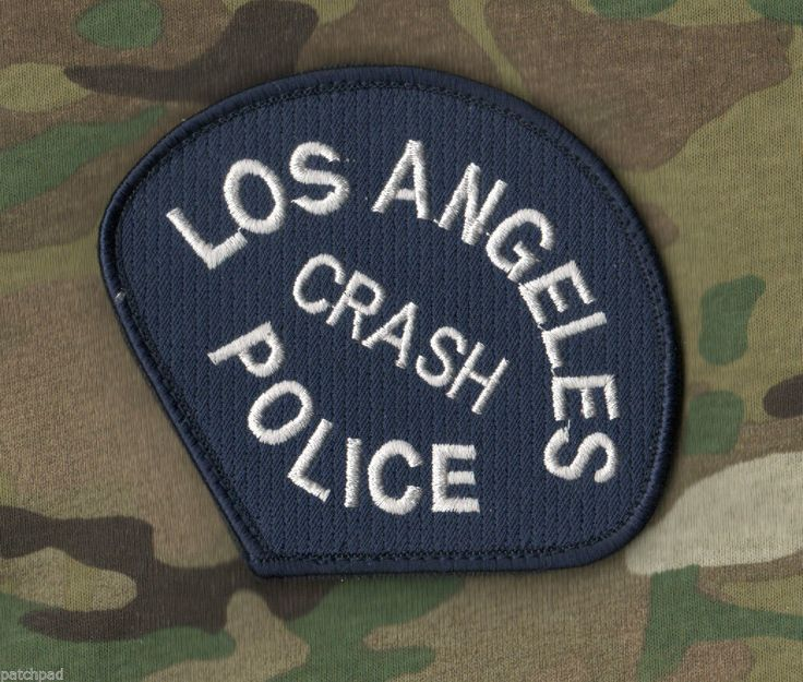 Polícia de LOS ANGELES LAPD autêntico ⭐(CRASH) ombro manga INSIGNIA νeΙ ©® 😎SSI | eBay