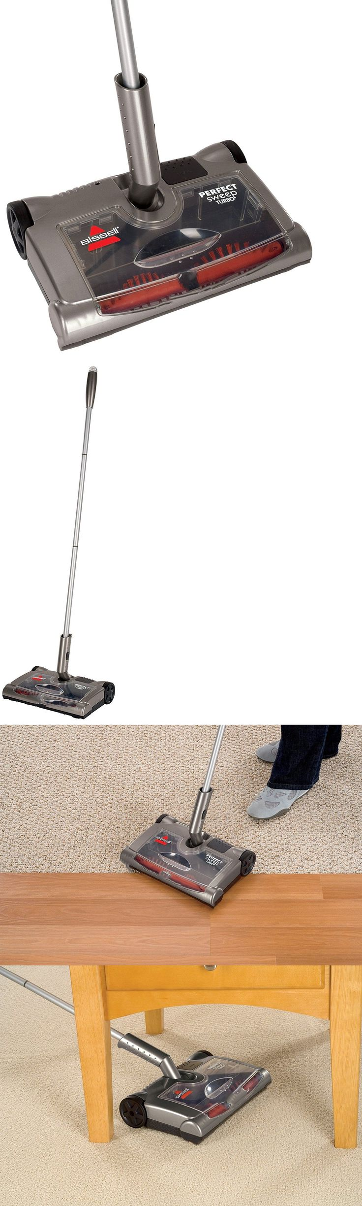 Carpet And Floor Sweepers 79657: New! Perfect Electric Floor Sweeper U2013 Home  Office Clean