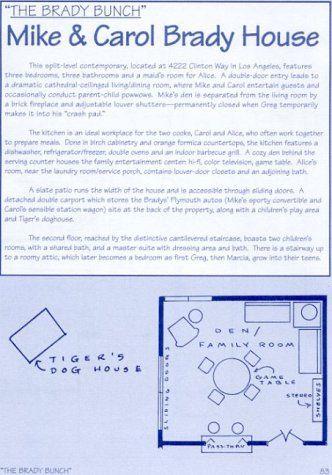 Blueprints of Classic TV Homes by Mark Bennett