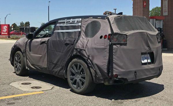 2020 Acura Mdx Spy Shots Acura Acura Rdx Honda S Mid Size Suv