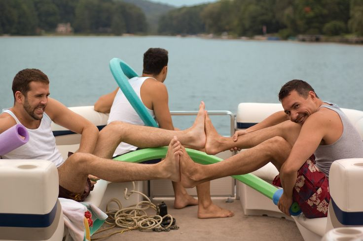 The many things you can do while playing on your Pontoon Boat.