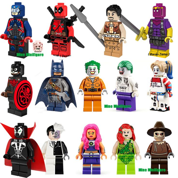 Single Sale  Avengers Super Hero Batman Hydra Captain America PG052 Blocks Kids Gift Toys