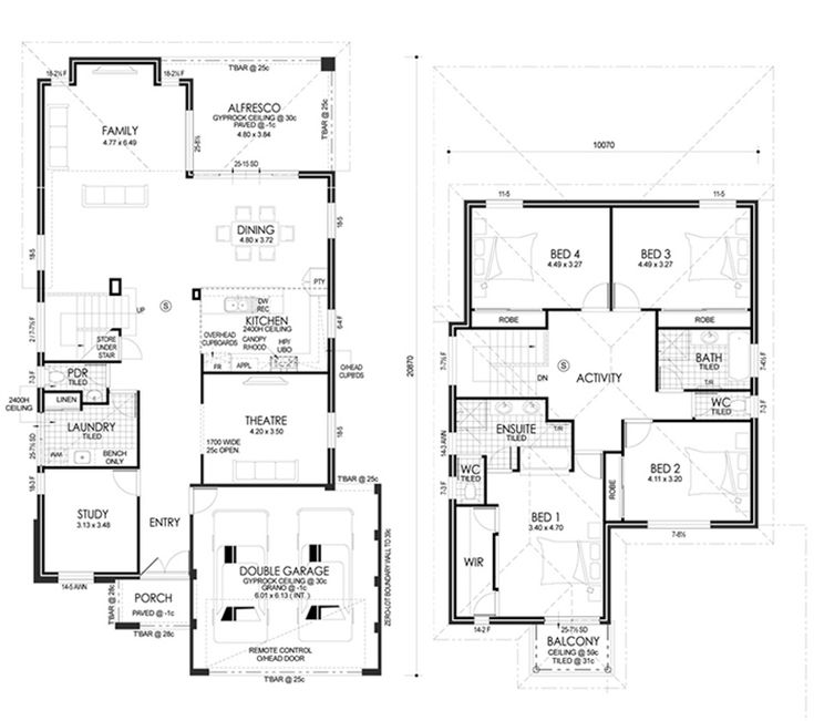 Northwood HomeDesign FloorPlan Rosmond Homes Home