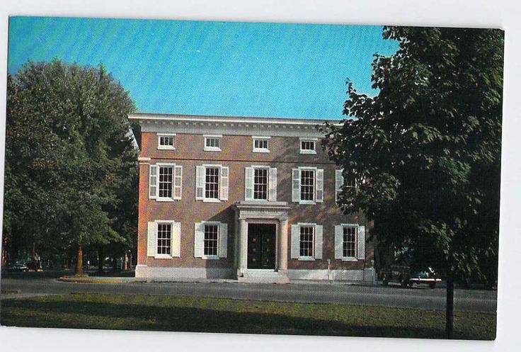 Georgetown, Delaware, DE, Farmers Bank of the State of Delaware, Vintage Postcard