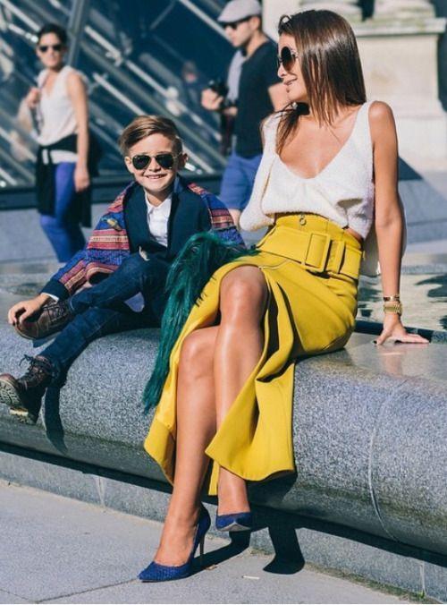 Skirt! – Street style – Love!!!