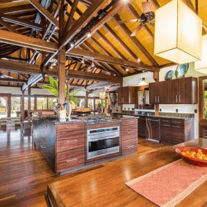 Large open kitchen space with a wonderful tropical feel. Interior Design Projects | Tropical Architecture Group, Inc.