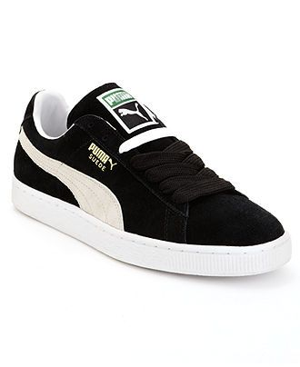 Puma Shoes, Suede Classic+ Sneakers - Mens Sneakers & Athletic - Macy's