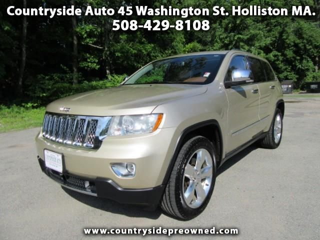 Used 2011 Jeep Grand Cherokee Overland 4wd For Sale In Holliston