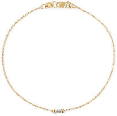Ileana Makri - 18-karat Gold Diamond Bracelet - one size