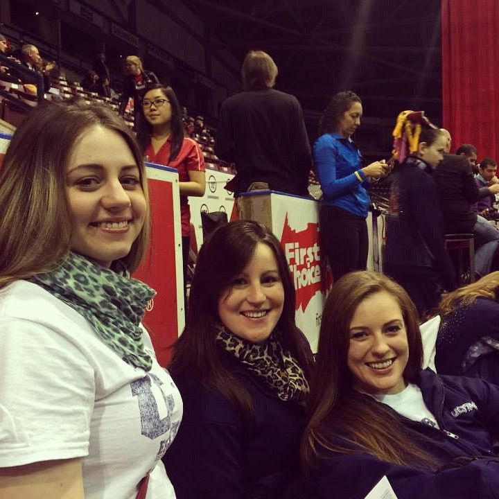 Leopard coaches waiting for the next team! www.ultimatecheer.ca #BeUltimate