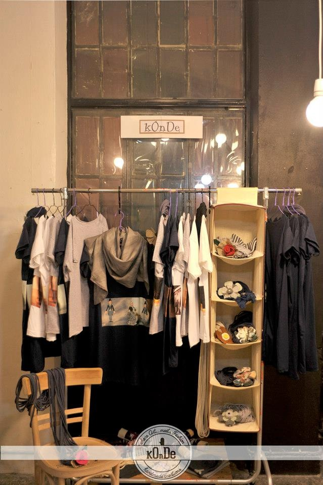 kOnDe fashion booth