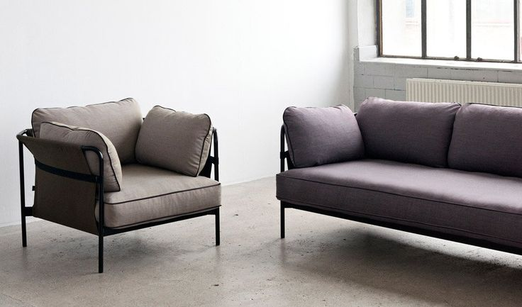 French design duo Ronan and Erwan Bouroullec have created a customisable self-assembly sofa for Danish design brand Hay's 2016 range.