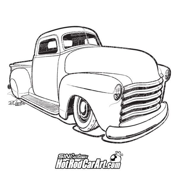 1099 best DAP of DRAWINGS of CARS & RODS (2) images on