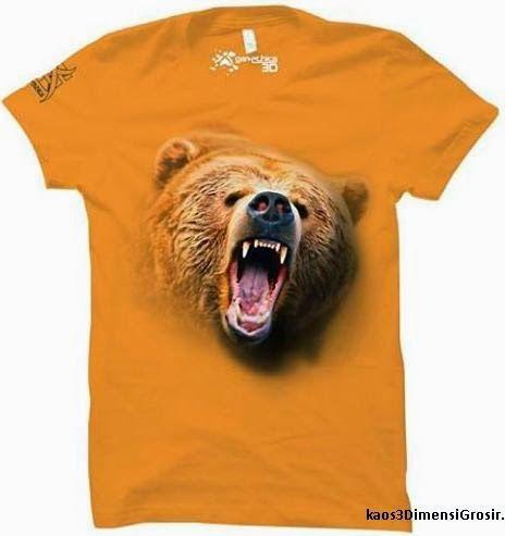 kaos 3d bear