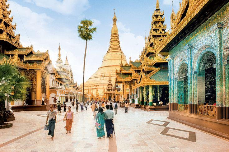 Pagode Shwedagon - Rangoon Birmanie