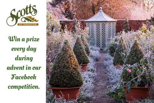 Scotts of Thrapston Facebook Advent Competition Terms & Conditions - win a prize every day in the run up to Christmas