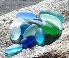 I  love the colors of sea glass.