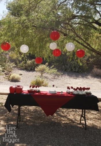 The Bundle's Ninja birthday party #ninja #birthday party