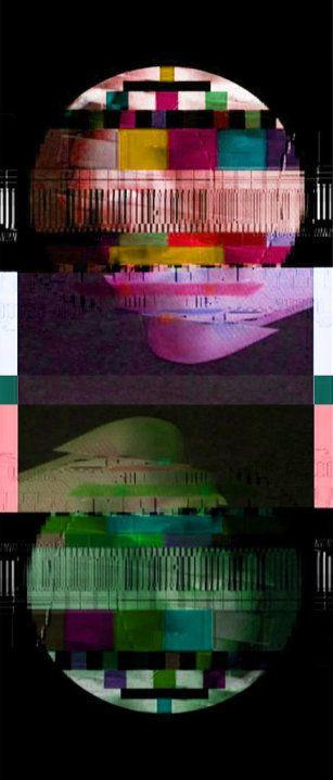 retro, video glitch