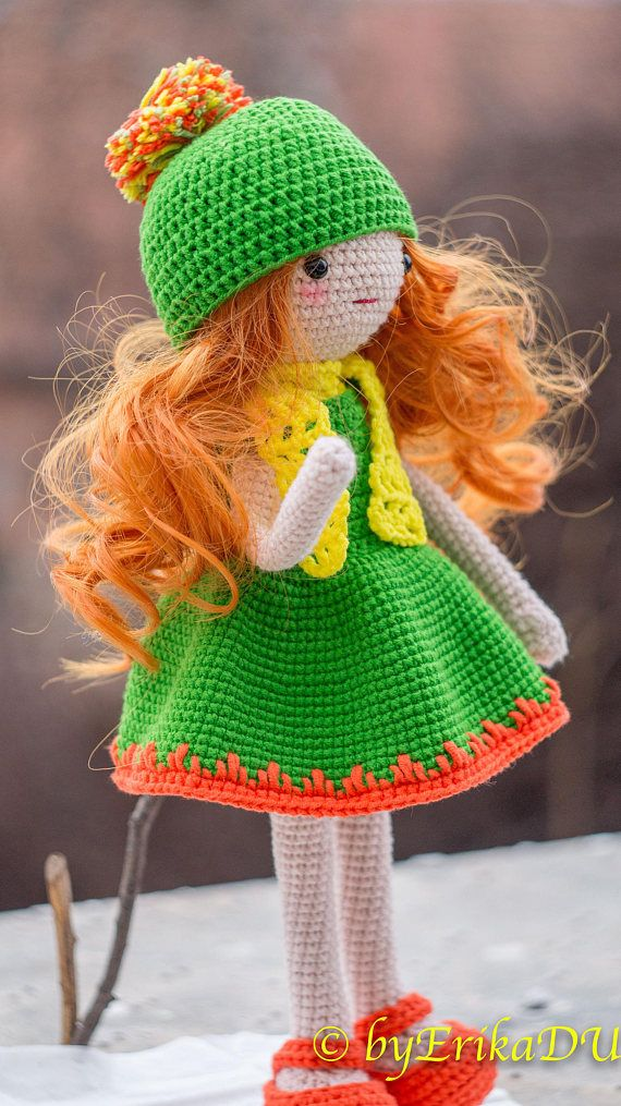 Crochet Doll Pattern Betsy PDF