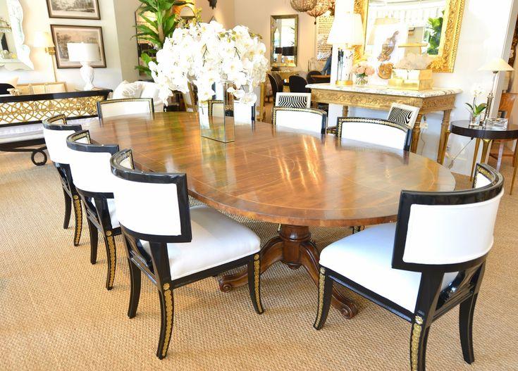 COTE DE TEXAS Shabby Slips Slipcovers Dining ChairsDining TableDining