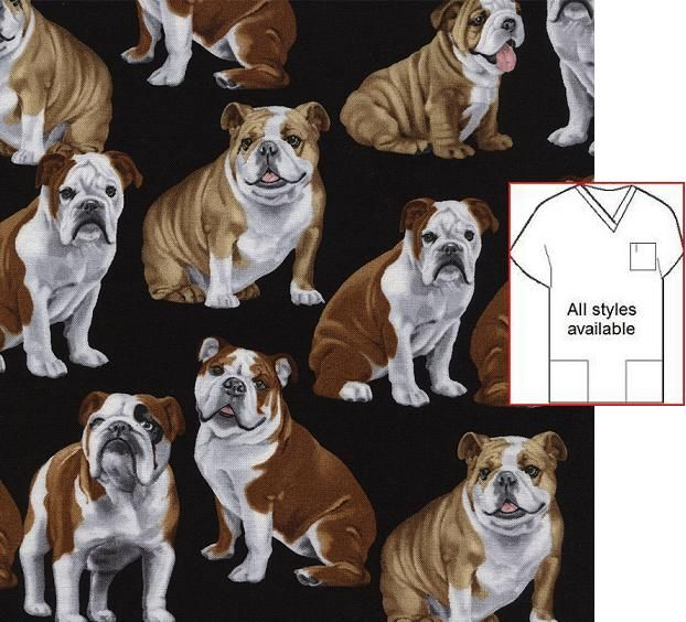 French Bulldogs R Kaufman Quilt Apparel Home Dec 100/% Cotton Fabric 1//2 Yd.