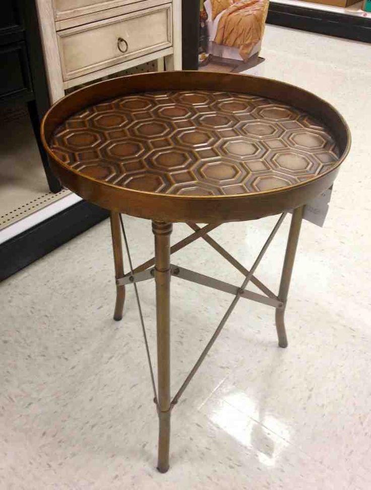 Round End Tables Target · Metal Accent ...