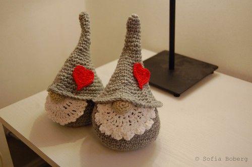 Crochet tomtar.