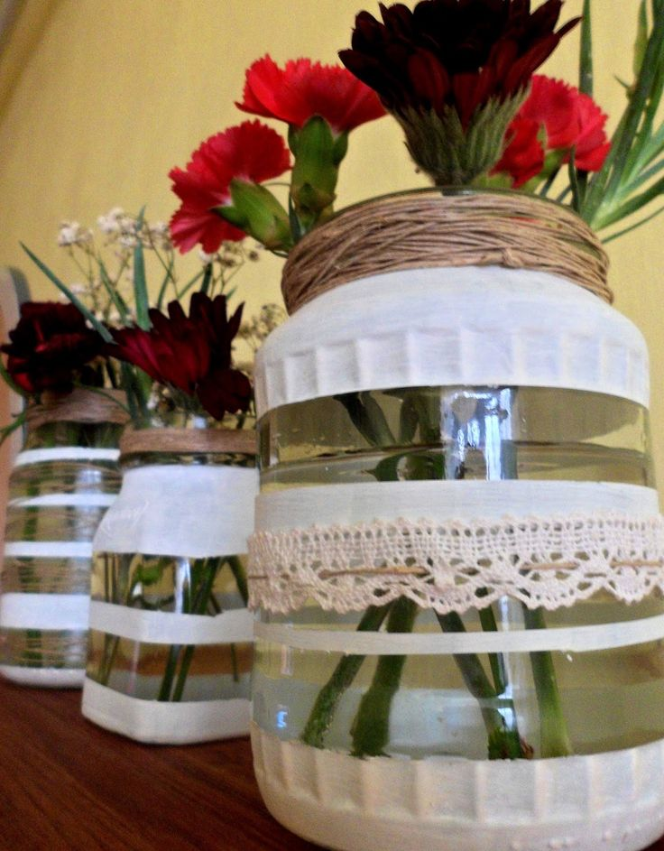 Kreatív hobbi : Befőttes üveg vagy váza?