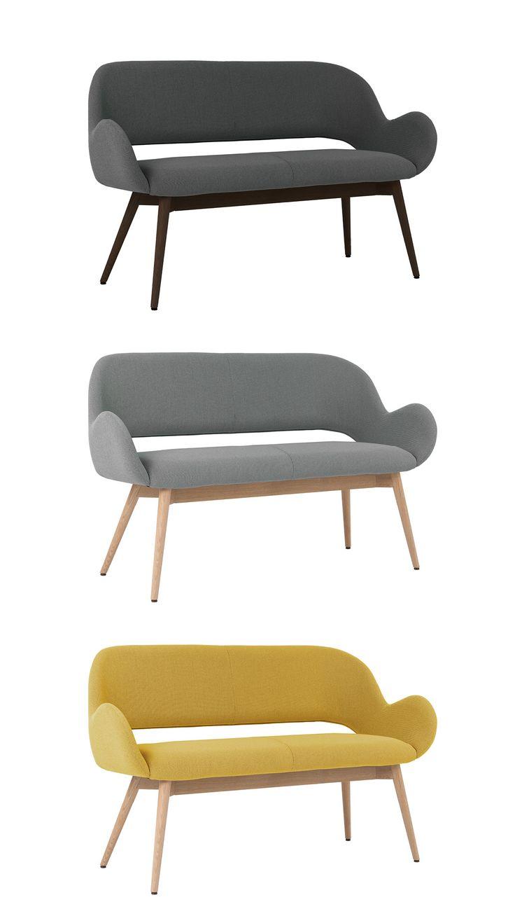 2 Sitzer Bank Juna Stuhlfabrik Schnieder Zweisitzer Kuchen Sofa Gemutliches Sofa Gastronomie Mobel