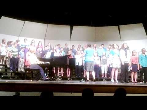 ▶ 6th grade choir of Mount Vernon Middle School sing The Lion Sleep Tonight - YouTube