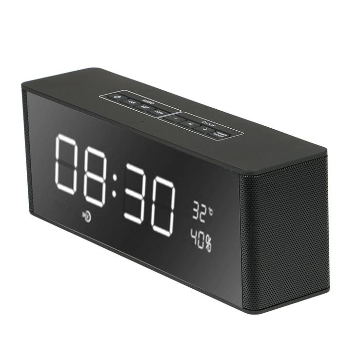 Mini Enceinte Speaker Bluetooth Speaker Portable Wireless Stereo Altavoz Bluetooth for Phone Xiaomi with TF FM Radio Alarm Clock #Affiliate
